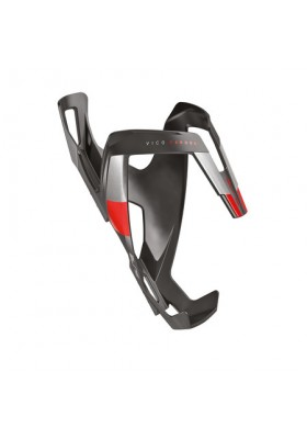 ELITE WATER BOTTLE CAGE VICO CARBOM MAT RED