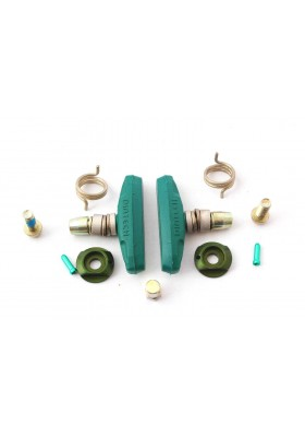 DIATEC BRAKE SHOE SET P2 62 GREEN