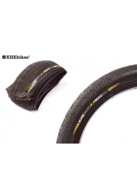KHE BMX TIRE MAC2 + 20X2.3'' FOLDING