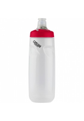 CAMELBAK WATTER BOTTLE PODIUM 0.71L CLEAR RED