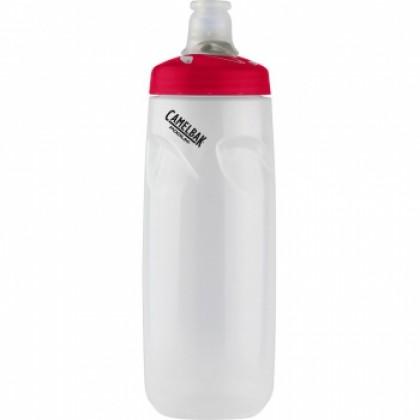 CAMELBAK WATTER BOTTLE PODIUM 0.71L CLEAR RED