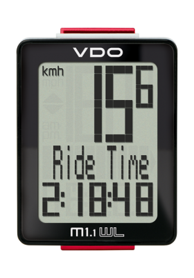 VDO CYCLE COMPUTER M1.1 WR/WL