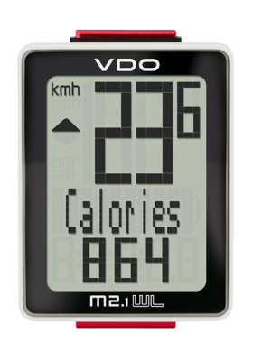VDO CYCLE COMPUTER M2.1 WR/WL