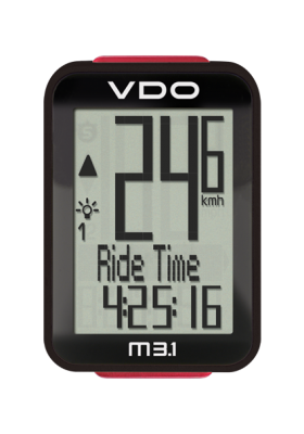 VDO CYCLE COMPUTER M3.1 WR/ WL