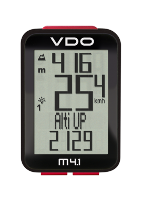 VDO CYCLE COMPUTER M4.1 WR/ WL