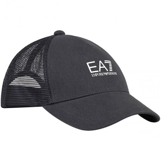 EA7 TENNIS CAP PRO BLACK OR WHITE UNISEX