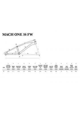 GT BMX MACH ONE 16'' FW 2018