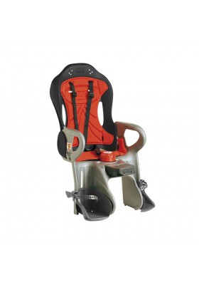 OK BABY CHILD SEATS SIRUS GREY/RED BASE