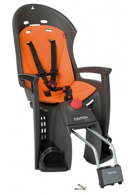 HAMAX CHILD SEATS SIESTA BLACK/ORANGE BASE
