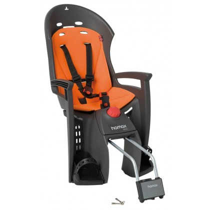 HAMAX CHILD SEATS SLEEPY BLACK-RED BASE