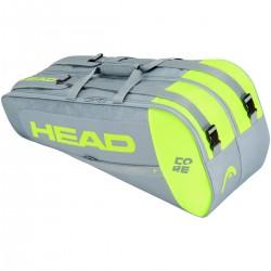 HEAD CORE COMBI 6R TENNIS BAG