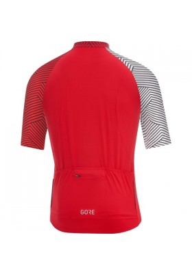 GORE JERSEY C5 OPTILINE BLACK/WHITE