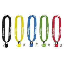 MASTER LOCK CHAIN WITH LAMINATED PADLOCK 8390 COLORED