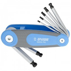 UNIOR SET OF BALL END HEXAGON WRENCHES