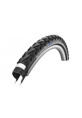 SCHWALBE TIRE LAND CRUISER PLUS 26X1.75 BLACK
