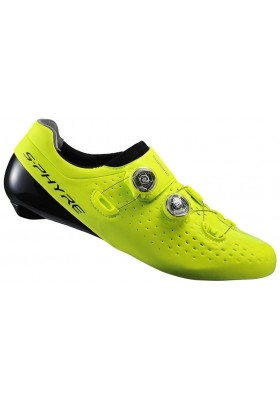 SHIMANO SHOES RC9Y S-PHYRE SPD-SL ROAD YELLOW