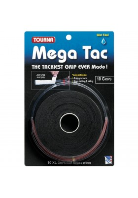 TOURNA MEGATAC OVERGRIPS 10X
