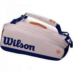 WILSON ROLAND GARROS PREMIUM 9 RACQUETS BAG