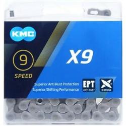 KMC X9 9 SPEED 114 CHAIN