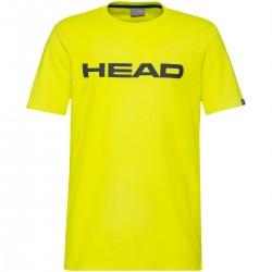 HEAD CLUB JUNIOR IV T-SHIRT YELLOW