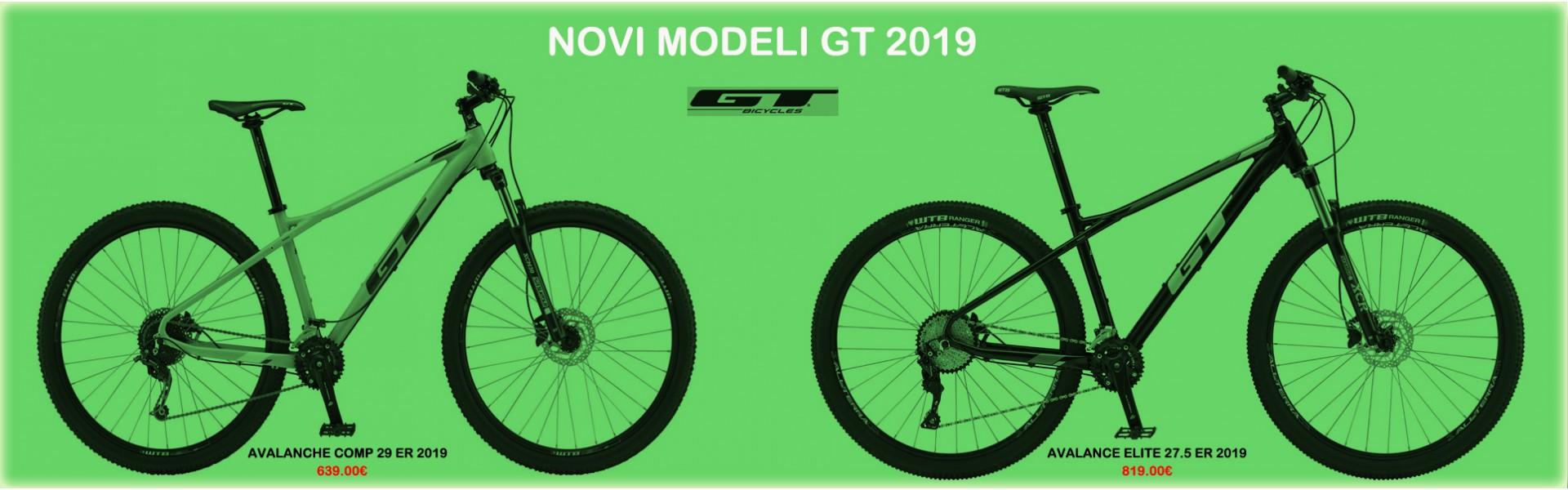 NEW MODELS GT 2019